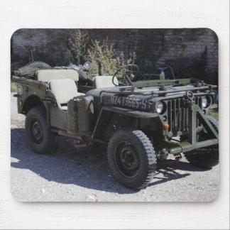Klassischer Willys Jeep Mauspads