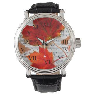 Klassisches Auntumn Uhr