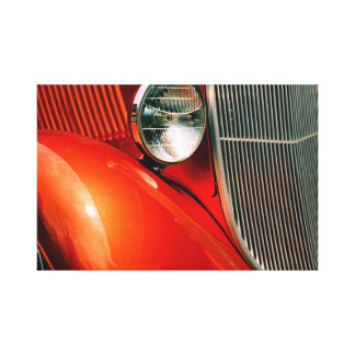Klassisches Auto 2 Leinwanddruck