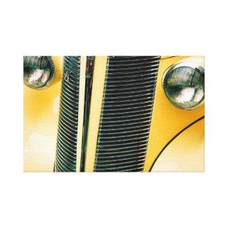 Klassisches Auto 3 Leinwanddruck
