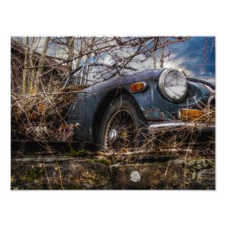 Klassisches Auto Fotodruck