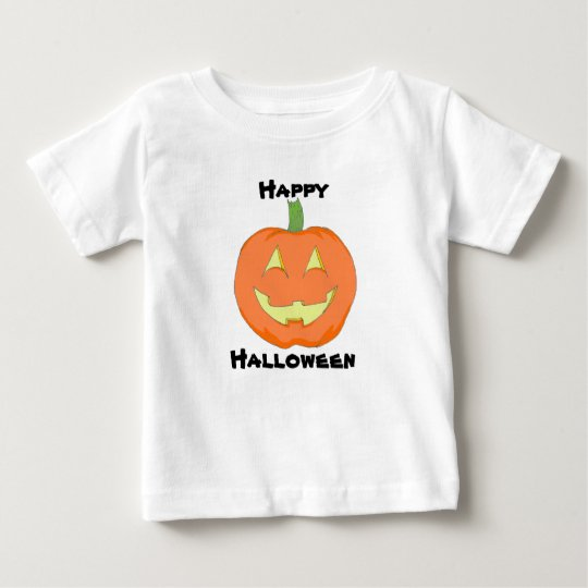 Klassisches Baby-Kürbis-T-Stück Baby T-shirt