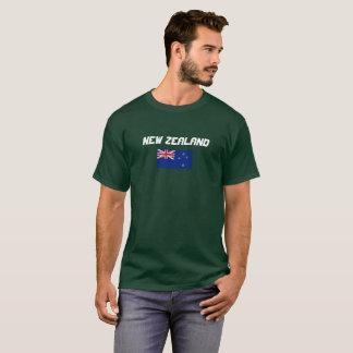 Klassisches Flaggen-Shirt Neuseelands T-Shirt