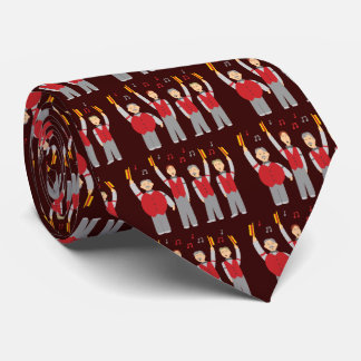 Klassisches Friseursalon-Quartett Individuelle Krawatte
