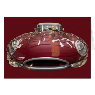 Klassisches Jaguar E-Artig ab 1961 Karte