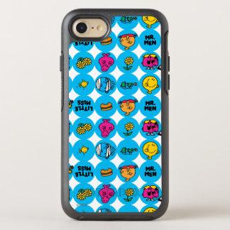 Klassisches Kreis-Muster OtterBox Symmetry iPhone 8/7 Hülle