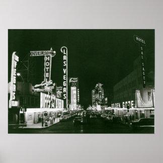 Klassisches Las Vegas Poster