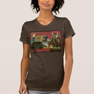Klassisches literarisches Heizer-Kunst-Shirt T-Shirt