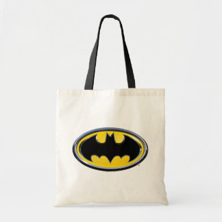 Klassisches Logo Batman-Symbol-| Budget Stoffbeutel