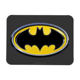 Klassisches Logo Batman-Symbol-| Eckiger Magnet