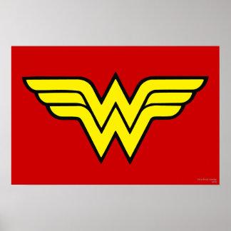 Klassisches Logo der Wunder-Frauen-  Poster