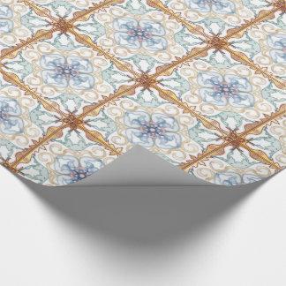 Klassisches marokkanisches geometrisches - geschenkpapier
