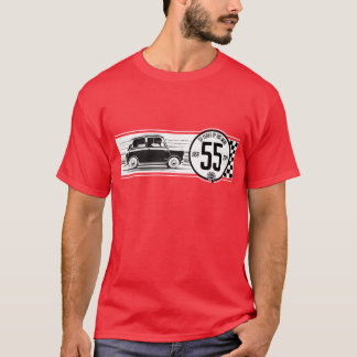 Klassisches Mini55 Jahrestags-T-Shirt T-Shirt