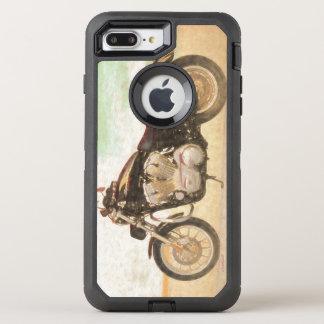 Klassisches Motorrad OtterBox Defender iPhone 8 Plus/7 Plus Hülle