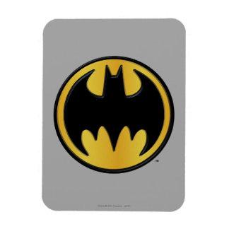 Klassisches rundes Logo Batman-Symbol-| Rechteckige Magnete