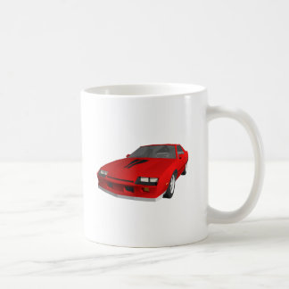 Klassisches Sport-Auto: Modell 3D: Tasse