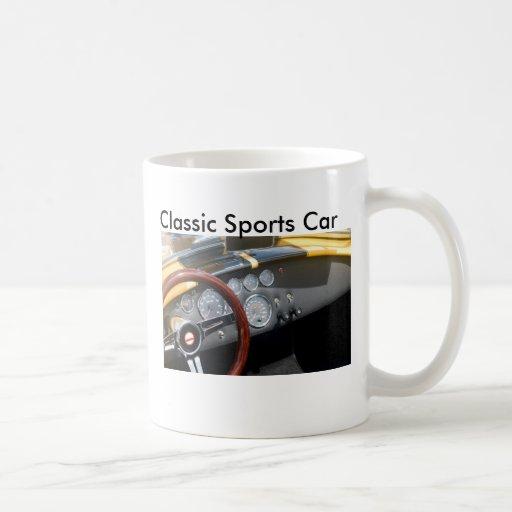 Klassisches Sport-Auto, Tassen