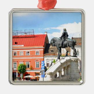 Klausenburg Napoca, Rumänien Silbernes Ornament