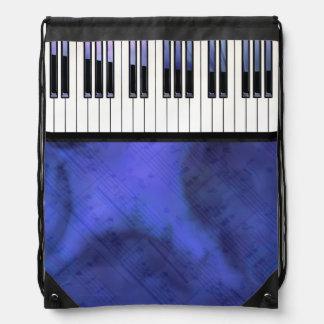 Klavier befestigt Blatt-Musik-moderne Drehung Turnbeutel
