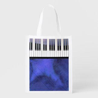Klavier befestigt Blatt-Musik-moderne Drehung Wiederverwendbare Einkaufstasche