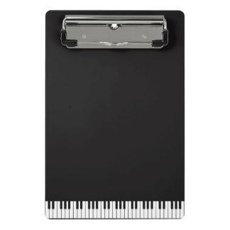 Klavier befestigt Miniklemmbrett Mini Klemmbrett