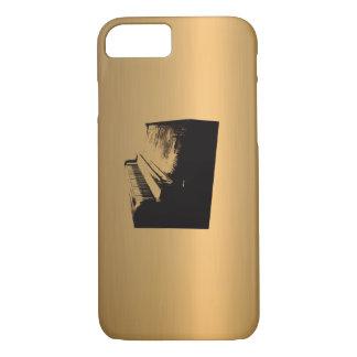 Klavier Bronzec$kupfer-effekt iPhone 8/7 Hülle