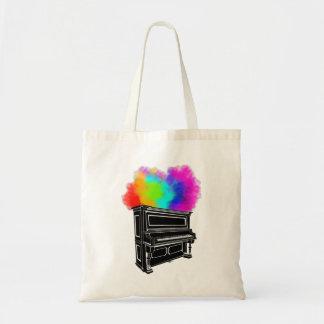 Klavier-Explosion der Farbe Tragetasche