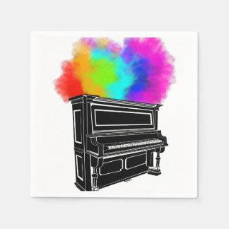 Klavier-Explosion Servietten