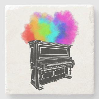 Klavier-Explosion Steinuntersetzer