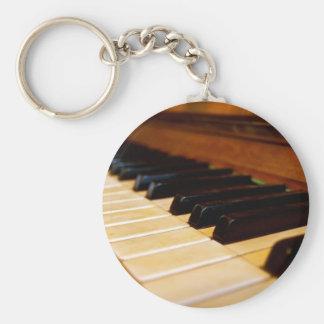 Klavier-Foto Schlüsselanhänger