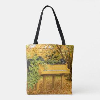 Klavier im Herbstholz Tasche