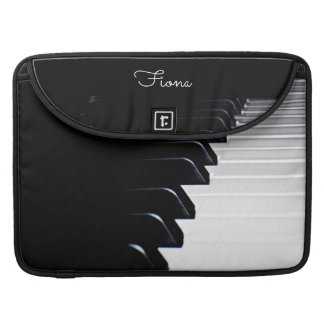Klavier-Musik personalisierte Macbook Hülse MacBook Pro Sleeve
