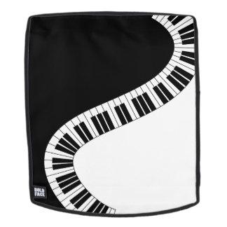 Klavier-Musik-Rucksack Rucksack