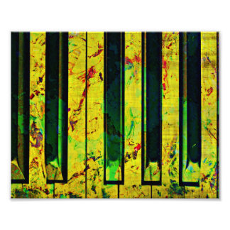 Klavier-musikalisch Art Kunstphoto