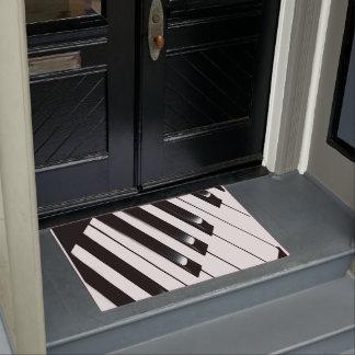 Klavier-Schlüssel Türmatte