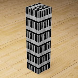 Klavier-Tastatur-kundenspezifischer Wein-Kasten Weinbox