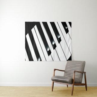 Klavier-Tastatur Wandteppich