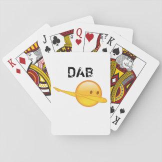 Klecks emoji Spielkarten