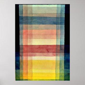Klee - Architektur der Ebene Poster
