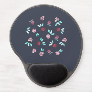 Klee-Blumen-Gel Mousepad