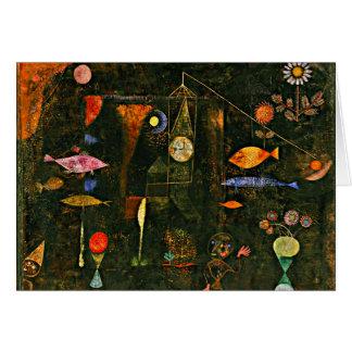 Klee - Fisch-Magie Karte