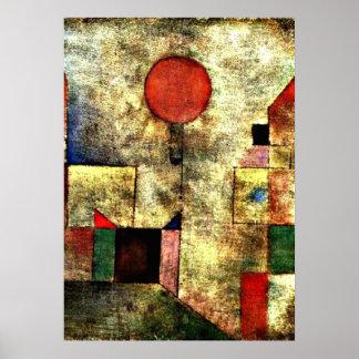 Klee: Roter Ballon Poster