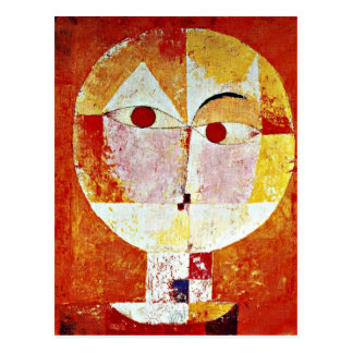 Klee: Senecio Postkarte