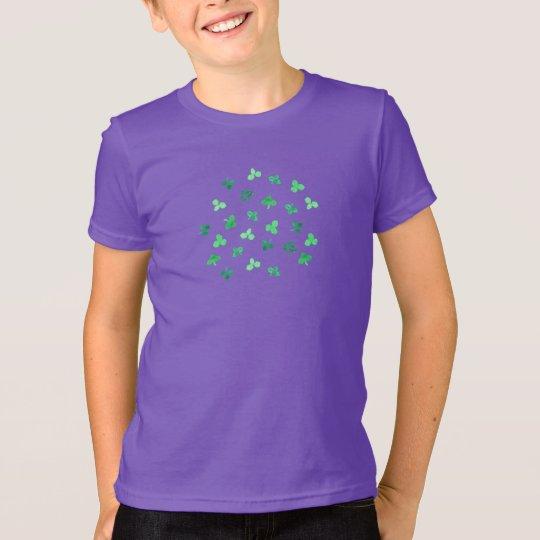 Klee verlässt das Jersey-T - Shirt der Kinder