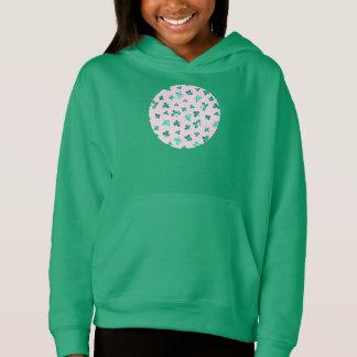 Klee verlässt Hoodie der Mädchen der Pullover