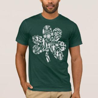 Kleeblatt-Bier-Spaß lustiger St. Patricks T-Shirt
