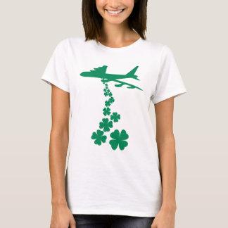 Kleeblatt-Friedensbomber-T - Shirt