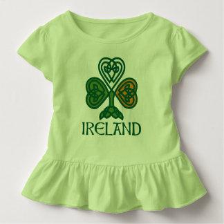 Kleeblatt - irische Flagge Kleinkind T-shirt