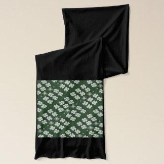 Kleeblatt-Kleemuster St. Patricks Tages Schal