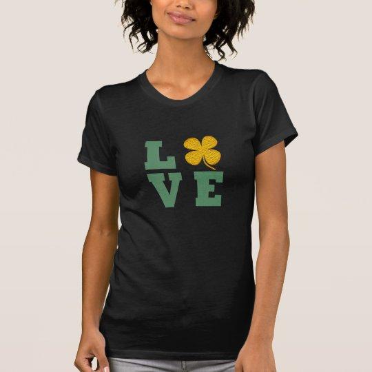 Kleeblatt-T - Shirt des irischen Stolzes